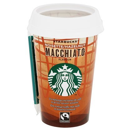 STARBUCKS HAZELNOOT / MACCHIATO 10X220ML <**>