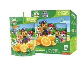 PAW PATROL ORANGE DRINK 8 X 5 ST