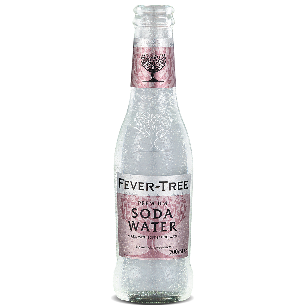 FEVER TREE SODA WATER 24 X 20 CL