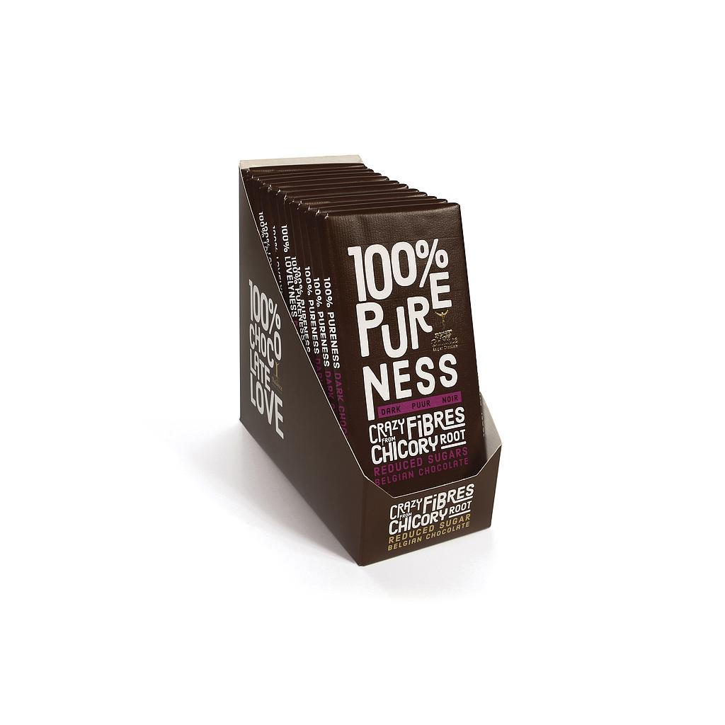 TABLET 100% PURENESS - PURE CHOCOLADE 12X85GR