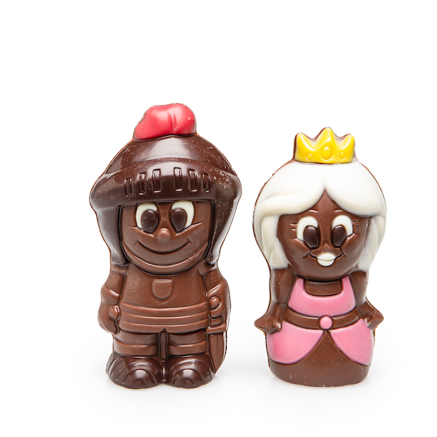 DE CHOCOLATERIE PRINS EN PRINCES 7+7 STUKS