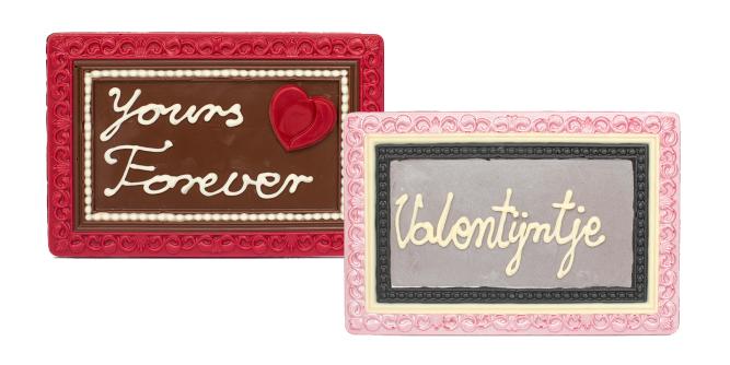 De Chocolaterie Frames Valentijn 18 X 12 Cm 10 St Lingier